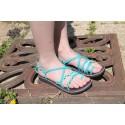 Sandale Mini Marine Bleu Turquoise
