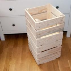 Boutique Farandole - Caisse de rangement empilable x 3