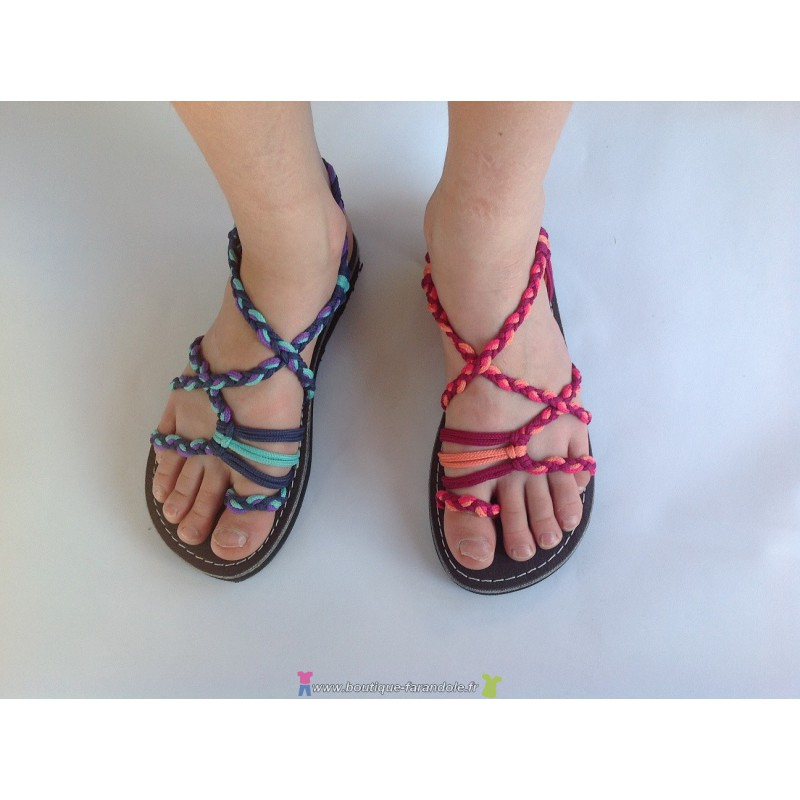 Mini Boutique Marine Farandole Sandale Sandales La Y2EWD9IH
