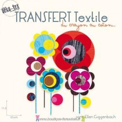 "Transfert textile ""Blooms"""