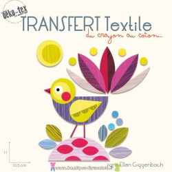 "Transfert textile ""Little Bird"""