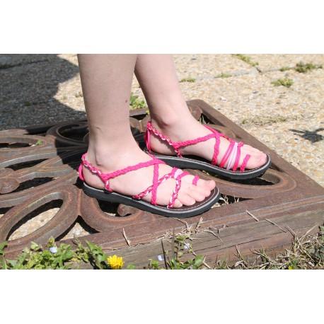 Sandale Mini Marine Rose fushia