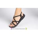 Sandale la Marine Calypso  plate Noire