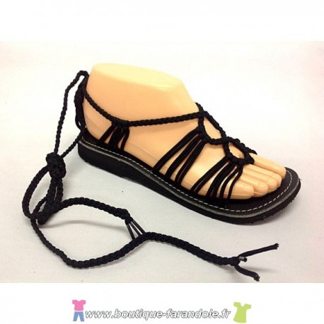 Sandale la Marine Nesa Noire