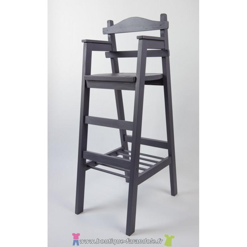 Chaise junior chaises hautes en bois chaise haute en bois naturel for Chaise et table de bar
