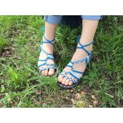 Sandale La Marine Nomia Bleu T37
