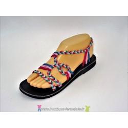 Sandale la Marine Metis plate Lolita