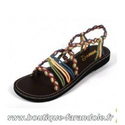 Sandale la Marine Idya Compensée T 40
