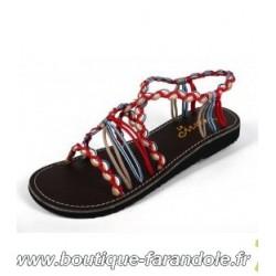 Sandale la Marine Idya Red Taupe