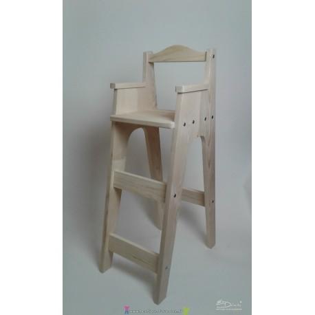 Chaise haute enfant pour table bar personnalisable BRIMBELLE