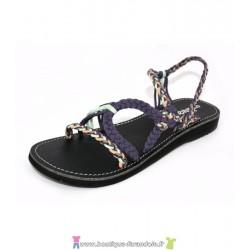 Sandale la Marine Helia Violet Sud Opale