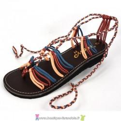 Sandale la Marine Nesa Plate Jean Blush