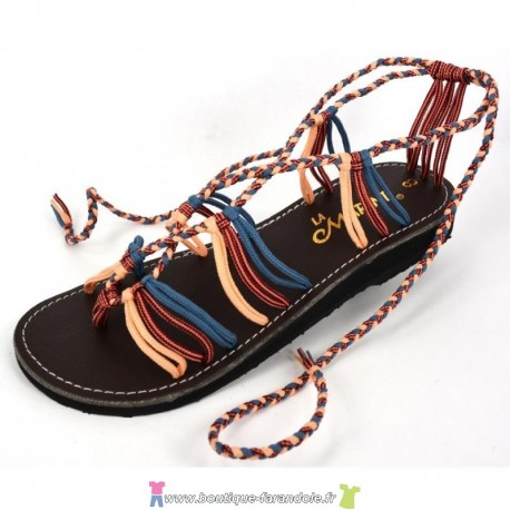 Sandale la Marine Nesa Jean Blush