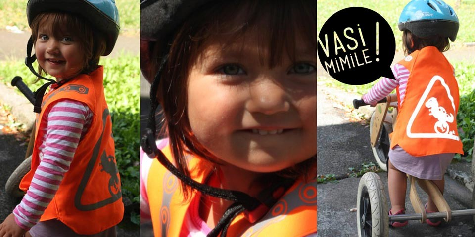 Vazi isosel Kid - Accessoire de visibilité cycliste